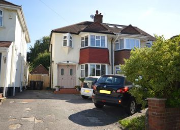 Thumbnail 3 bed semi-detached house for sale in Leatherhead Road, Chessington, Surrey.