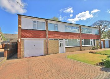 Thumbnail 4 bed semi-detached house for sale in Crockford Close, Addlestone, Surrey