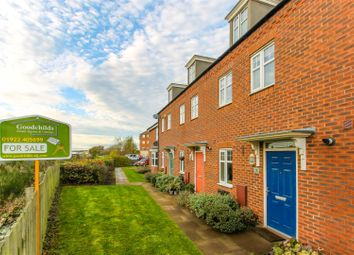 Thumbnail 3 bedroom town house for sale in Water Reed Grove, Walsall