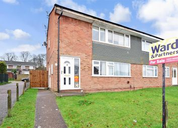 Thumbnail 2 bed maisonette for sale in Tatler Close, Lords Wood, Chatham, Kent