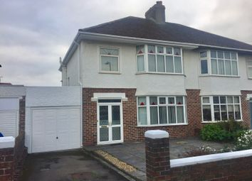 Thumbnail 3 bed semi-detached house to rent in Park Avenue, Porthcawl