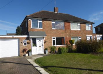 Thumbnail 4 bedroom semi-detached house for sale in Calcutt Close, Dunstable