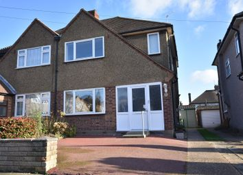 Thumbnail 3 bedroom semi-detached house for sale in Humber Drive, Upminster