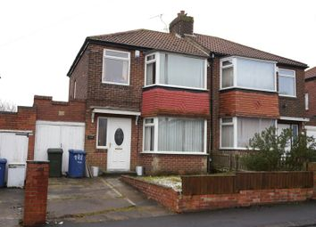 Thumbnail 3 bedroom semi-detached house for sale in Western Avenue, West Denton, Newcastle Upon Tyne