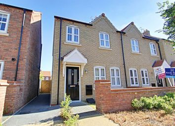 Thumbnail 3 bed end terrace house for sale in Village Green Way, Kingswood, Hull