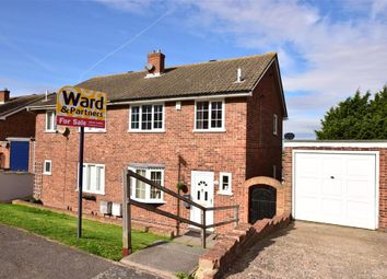Thumbnail 3 bed semi-detached house for sale in Sedley Close, Cliffe Woods, Rochester, Kent