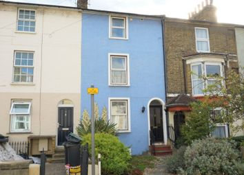 Thumbnail 4 bed terraced house for sale in Dover Road East, Gravesend
