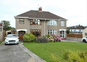 Thumbnail 3 bed semi-detached house for sale in Woodlands Rise, Bridgend, Bridgend County.