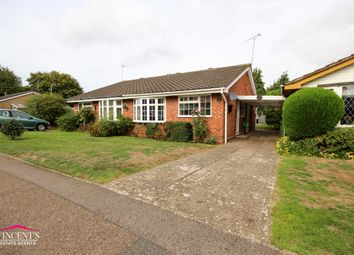 Thumbnail 2 bed semi-detached bungalow for sale in Bramble Way, Leicester