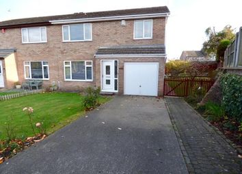 Thumbnail 3 bed semi-detached house for sale in Benwell Close, Carlisle, Cumbria