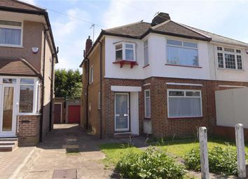Thumbnail 3 bed semi-detached house for sale in Clifton Avenue, Stanmore, Middlesex