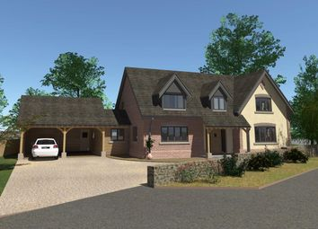Thumbnail 4 bedroom detached house for sale in New House, Hall Bank, Pontesbury
