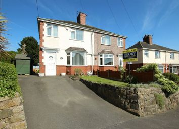 Thumbnail 3 bed semi-detached house for sale in Church Lane, Mow Cop, Stoke-On-Trent