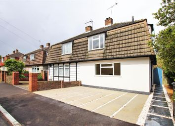Thumbnail 3 bed semi-detached house to rent in Port Avenue, Greenhithe