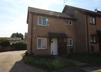Thumbnail 1 bed terraced house to rent in Pirbright Close, Lordswood, Chatham