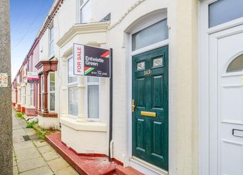 2 bed terraced house for sale in Strathcona Road, Liverpool, Merseyside L15