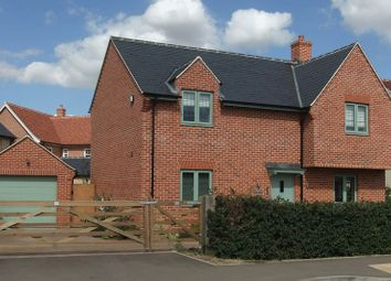 Thumbnail 4 bed detached house for sale in Lodge Road, Cranfield, Bedford