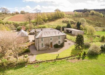 Thumbnail 4 bed farmhouse for sale in Mangerton Farm, Newcastleton, Roxburghshire