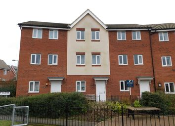 Thumbnail 4 bedroom town house for sale in Guillemot Close, Stowmarket