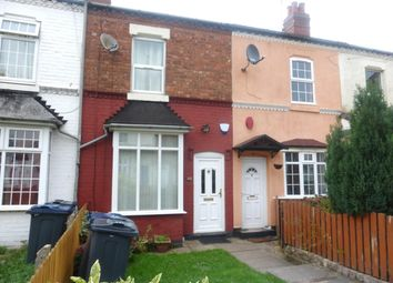 Thumbnail 3 bed terraced house to rent in Kirby Road, Winson Green, Birmingham