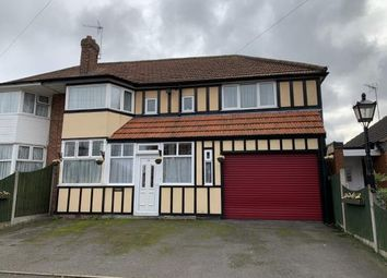 Thumbnail 4 bed semi-detached house for sale in Groveley Lane, Northfield, Birmingham, West Midlands
