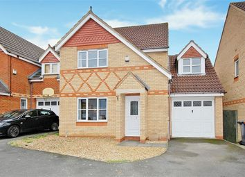 Thumbnail 4 bed detached house for sale in Cross Brooks, Wootton Fields, Northampton