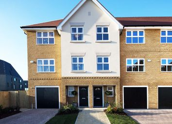 Thumbnail 3 bed end terrace house for sale in Plot 127 Willowtree, Jubilee Meadows, Felcott Road, Hersham Surrey