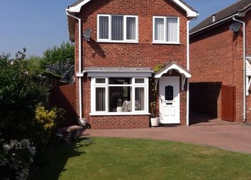 Thumbnail 3 bed detached house for sale in Rowan Close, Kingsbury, Tamworth