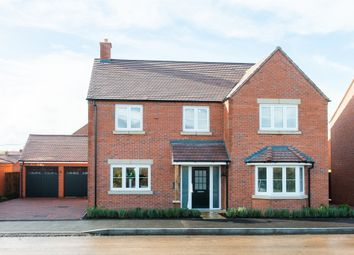 Thumbnail 4 bedroom detached house for sale in Hayfield Meadow, Hallow, Worcester