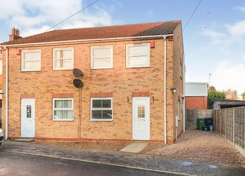 Thumbnail 2 bed semi-detached house for sale in Church Drove, Outwell, Wisbech