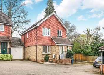 Thumbnail 3 bed link-detached house to rent in Hall Drive, Church Crookham, Fleet