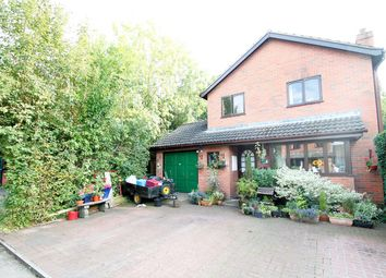 Thumbnail 3 bed detached house for sale in The Ashes, Ashfield, Stowmarket