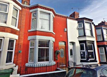 Thumbnail 3 bed terraced house for sale in Grasville Road, Tranmere, Birkenhead