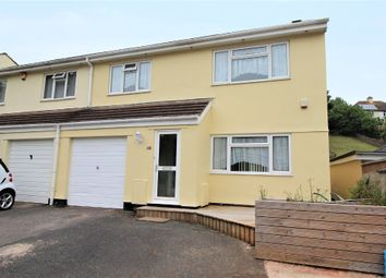 Thumbnail 4 bed semi-detached house for sale in Luscombe Road, Paignton