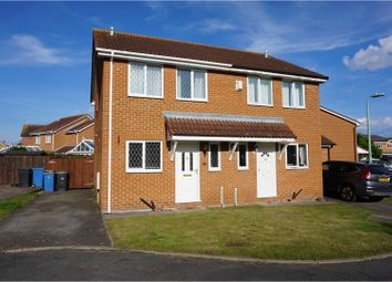Thumbnail 3 bedroom semi-detached house for sale in Hervey Close, Ipswich