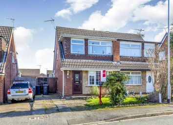 Thumbnail 3 bed semi-detached house for sale in Seagull Close, Crewe, Cheshire