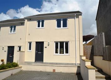 Thumbnail 3 bed semi-detached house to rent in Grange Road, Helston