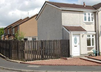Thumbnail 2 bed semi-detached house to rent in Carrick Vale, Cleland, Motherwell