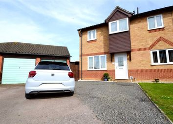 Thumbnail 3 bed end terrace house for sale in Winston Close, Felixstowe, Suffolk