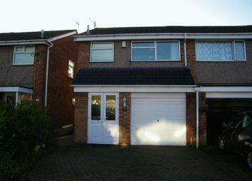 Thumbnail 3 bed semi-detached house to rent in Stratton Road, Great Sankey, Warrington