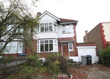 Thumbnail 3 bed semi-detached house to rent in Preston Road, Wembley