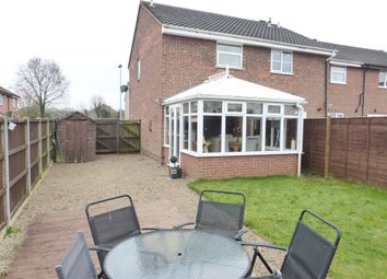 Thumbnail 2 bed semi-detached house for sale in Lindley Close, Old Catton, Norwich