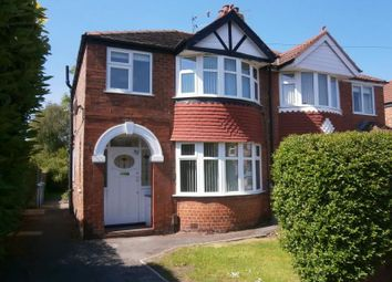 Thumbnail 3 bedroom semi-detached house to rent in Garner Avenue, Timperley, Altrincham