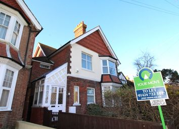 Thumbnail 2 bed flat to rent in Colebrooke Road, Bexhill-On-Sea