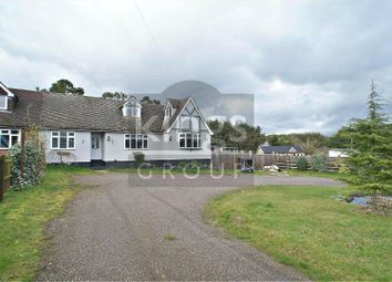 Thumbnail 5 bed semi-detached house for sale in Claverhambury Road, Waltham Abbey