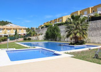 Thumbnail 3 bed town house for sale in Calpe, Alicante, Valencia, Spain