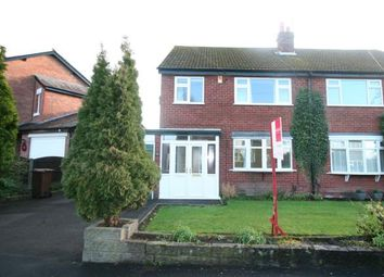 Thumbnail 3 bed semi-detached house for sale in Kitts Moss Lane, Bramhall, Stockport, Cheshire