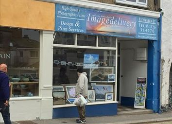 Thumbnail Retail premises for sale in 11 Webber Street, Falmouth, Cornwall
