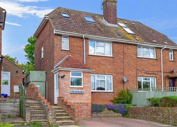 Thumbnail 4 bed semi-detached house for sale in Dale Road, Lewes, East Sussex