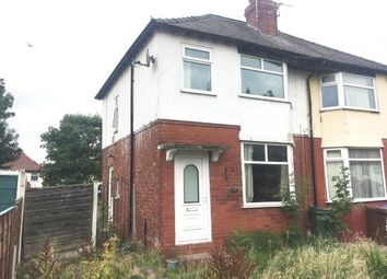 Thumbnail 2 bed semi-detached house for sale in Sandileigh Avenue, Brinnington, Stockport, Cheshire